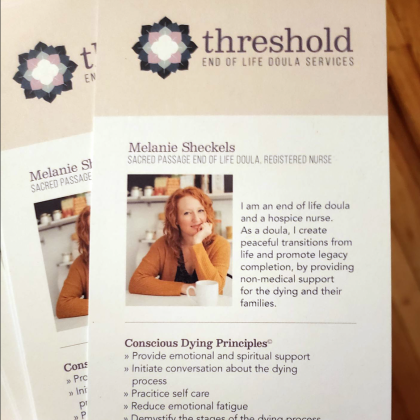 Threshold End of Life Doula Services